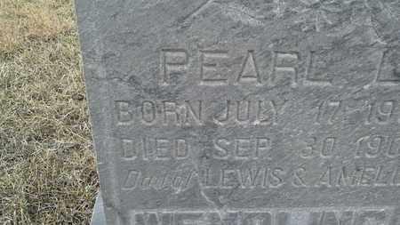 WENDLING, PEARL L - Hamlin County, South Dakota | PEARL L WENDLING - South Dakota Gravestone Photos
