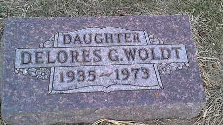 WOLDT, DELORES G - Hamlin County, South Dakota   DELORES G WOLDT - South Dakota Gravestone Photos