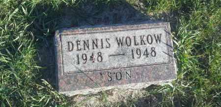 WOLKOW, DENNIS - Hamlin County, South Dakota | DENNIS WOLKOW - South Dakota Gravestone Photos