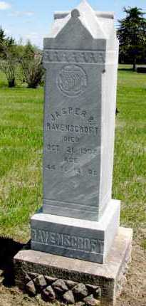 RAVENSCROFT, JASPER B - Hand County, South Dakota | JASPER B RAVENSCROFT - South Dakota Gravestone Photos