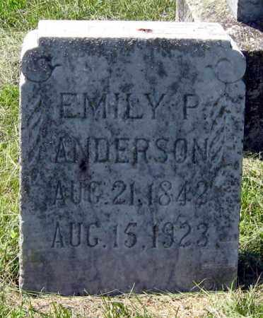 ANDERSON, EMILY - Hanson County, South Dakota | EMILY ANDERSON - South Dakota Gravestone Photos