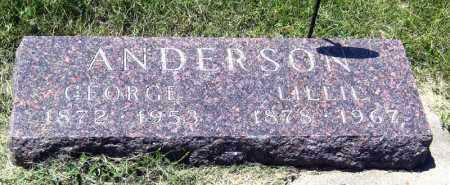 ANDERSON, GEORGE - Hanson County, South Dakota | GEORGE ANDERSON - South Dakota Gravestone Photos