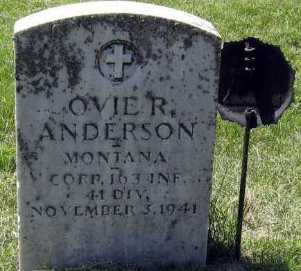 ANDERSON, OVIE - Hanson County, South Dakota | OVIE ANDERSON - South Dakota Gravestone Photos