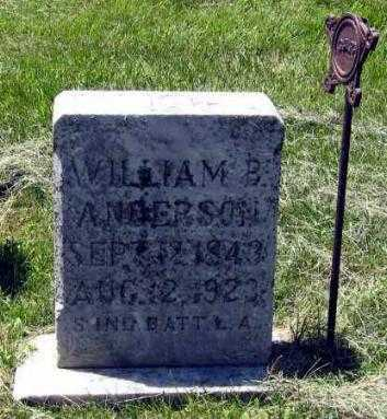 ANDERSON, WILLIAM - Hanson County, South Dakota | WILLIAM ANDERSON - South Dakota Gravestone Photos