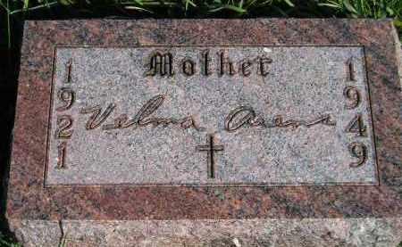 ARENS, VELMA - Hanson County, South Dakota | VELMA ARENS - South Dakota Gravestone Photos