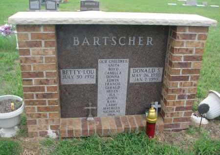 BARTSCHER, BETTY LOU - Hanson County, South Dakota   BETTY LOU BARTSCHER - South Dakota Gravestone Photos