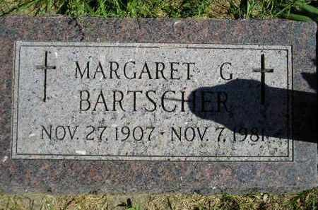 BARTSCHER, MARGARET G. - Hanson County, South Dakota | MARGARET G. BARTSCHER - South Dakota Gravestone Photos