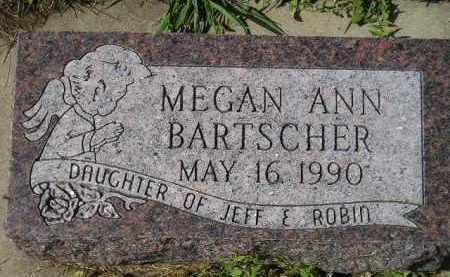BARTSCHER, MEGAN ANN - Hanson County, South Dakota   MEGAN ANN BARTSCHER - South Dakota Gravestone Photos