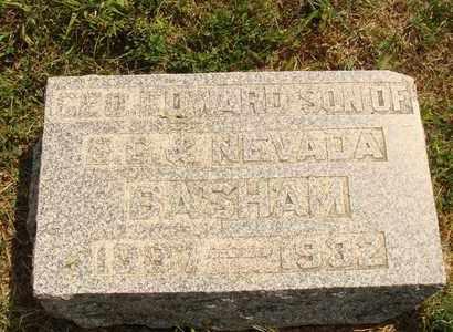 BASHAM, GEORGE EDWARD - Hanson County, South Dakota | GEORGE EDWARD BASHAM - South Dakota Gravestone Photos