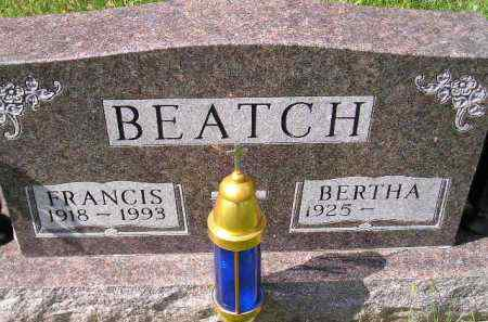 BEATCH, BERTHA - Hanson County, South Dakota | BERTHA BEATCH - South Dakota Gravestone Photos