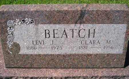 BEATCH, CLARA M. - Hanson County, South Dakota | CLARA M. BEATCH - South Dakota Gravestone Photos