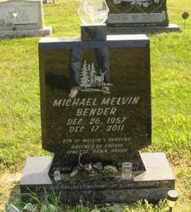 BENDER, MICHAEL MELVIN - Hanson County, South Dakota   MICHAEL MELVIN BENDER - South Dakota Gravestone Photos