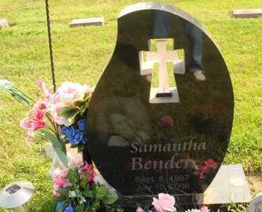 BENDER, SAMANTHA - Hanson County, South Dakota | SAMANTHA BENDER - South Dakota Gravestone Photos