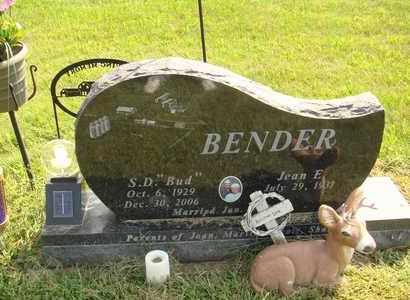 BENDER, JEAN E. - Hanson County, South Dakota | JEAN E. BENDER - South Dakota Gravestone Photos