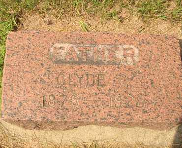 BENNETT, CYDE C. - Hanson County, South Dakota | CYDE C. BENNETT - South Dakota Gravestone Photos