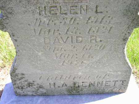 BENNETT, HELEN L. - Hanson County, South Dakota | HELEN L. BENNETT - South Dakota Gravestone Photos