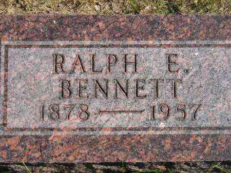 BENNETT, RALPH E. - Hanson County, South Dakota | RALPH E. BENNETT - South Dakota Gravestone Photos