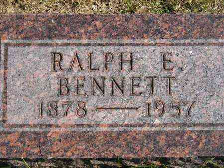 BENNETT, RALPH E. - Hanson County, South Dakota | RALPH E. BENNETT - South Dakota Gravestone Photos