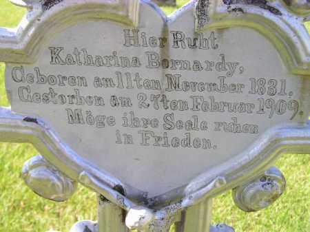 BERNARDY, KATHARINA - Hanson County, South Dakota   KATHARINA BERNARDY - South Dakota Gravestone Photos