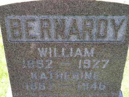 BERNARDY, WILLIAM - Hanson County, South Dakota | WILLIAM BERNARDY - South Dakota Gravestone Photos