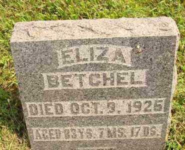 BETCHEL, ELIZA - Hanson County, South Dakota | ELIZA BETCHEL - South Dakota Gravestone Photos