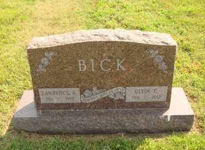 BICK, GLYDE G. - Hanson County, South Dakota   GLYDE G. BICK - South Dakota Gravestone Photos