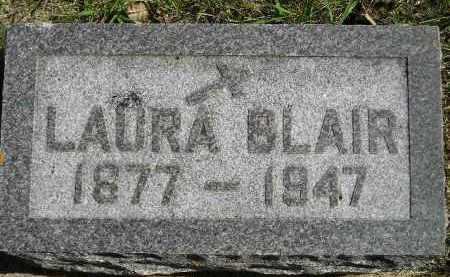 BLAIR, LAURA - Hanson County, South Dakota | LAURA BLAIR - South Dakota Gravestone Photos