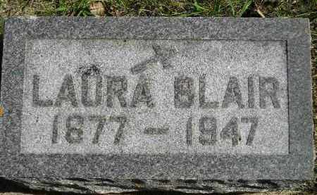 BLAIR, LAURA - Hanson County, South Dakota | LAURA BLAIR - South Dakota Gravestone Photos