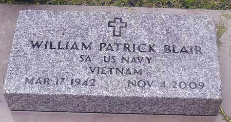 BLAIR, WILLIAM PATRICK - Hanson County, South Dakota | WILLIAM PATRICK BLAIR - South Dakota Gravestone Photos
