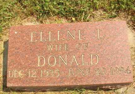 BLUMENBERG, ELLENE L. - Hanson County, South Dakota   ELLENE L. BLUMENBERG - South Dakota Gravestone Photos