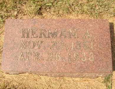 BLUMENBERG, HERMAN A. - Hanson County, South Dakota | HERMAN A. BLUMENBERG - South Dakota Gravestone Photos