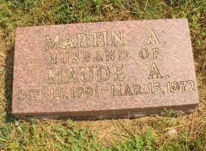 BLUMENBERG, MARTIN A. - Hanson County, South Dakota   MARTIN A. BLUMENBERG - South Dakota Gravestone Photos