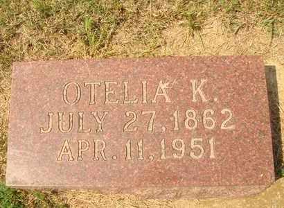 BLUMENBERG, OTELIA K. - Hanson County, South Dakota | OTELIA K. BLUMENBERG - South Dakota Gravestone Photos