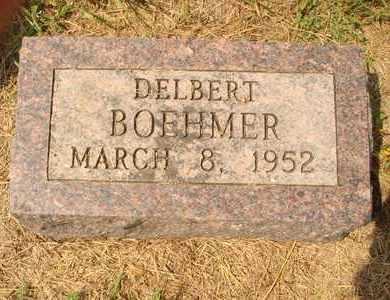 BOEHMER, DELBERT - Hanson County, South Dakota   DELBERT BOEHMER - South Dakota Gravestone Photos