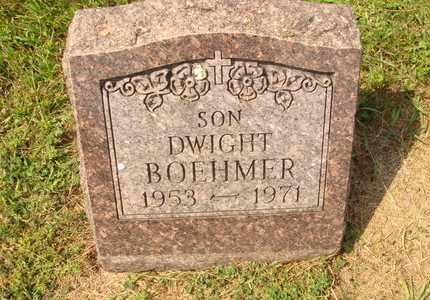 BOEHMER, DWIGHT - Hanson County, South Dakota   DWIGHT BOEHMER - South Dakota Gravestone Photos