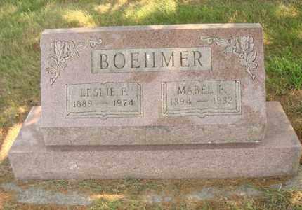 BOEHMER, LESLIE F. - Hanson County, South Dakota | LESLIE F. BOEHMER - South Dakota Gravestone Photos