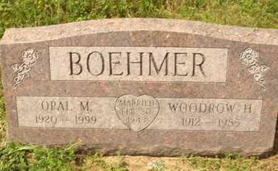 BOEHMER, WOODROW H. - Hanson County, South Dakota | WOODROW H. BOEHMER - South Dakota Gravestone Photos