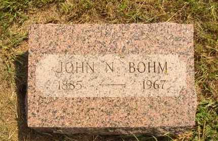 BOHM, JOHN N. - Hanson County, South Dakota | JOHN N. BOHM - South Dakota Gravestone Photos