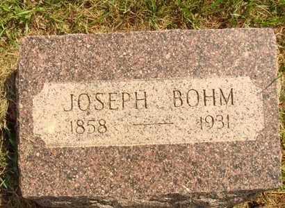 BOHM, JOSEPH - Hanson County, South Dakota   JOSEPH BOHM - South Dakota Gravestone Photos