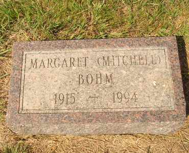 MITCHELL BOHM, MARGARETT - Hanson County, South Dakota | MARGARETT MITCHELL BOHM - South Dakota Gravestone Photos