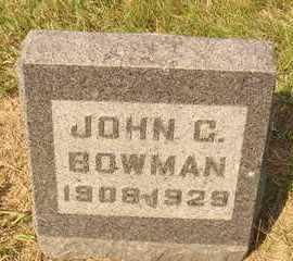 BOWMAN, JOHN C. - Hanson County, South Dakota | JOHN C. BOWMAN - South Dakota Gravestone Photos