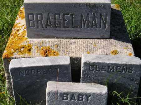 BRAGELMAN, FOOTSTONES - Hanson County, South Dakota   FOOTSTONES BRAGELMAN - South Dakota Gravestone Photos