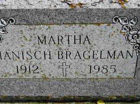 HANISCH BRAGELMAN, MARTHA - Hanson County, South Dakota | MARTHA HANISCH BRAGELMAN - South Dakota Gravestone Photos