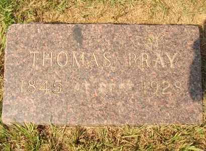 BRAY, THOMAS - Hanson County, South Dakota | THOMAS BRAY - South Dakota Gravestone Photos