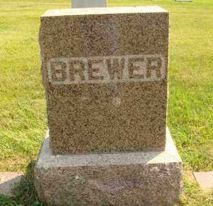 BREWER, FAMILY MARKER - Hanson County, South Dakota | FAMILY MARKER BREWER - South Dakota Gravestone Photos