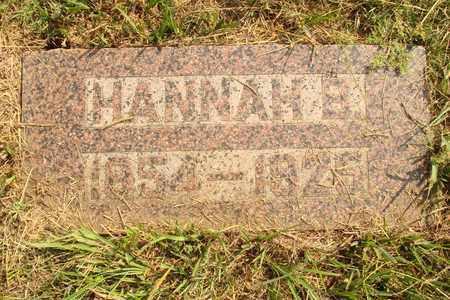 BREWER, HANNAH B. - Hanson County, South Dakota   HANNAH B. BREWER - South Dakota Gravestone Photos