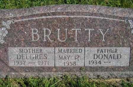 BRUTTY, DELORES - Hanson County, South Dakota | DELORES BRUTTY - South Dakota Gravestone Photos