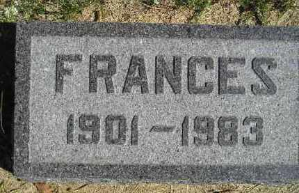 BRUTTY, FRANCES - Hanson County, South Dakota | FRANCES BRUTTY - South Dakota Gravestone Photos