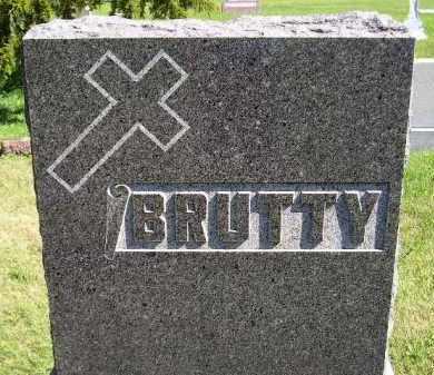 BRUTTY, FAMILY STONE - Hanson County, South Dakota   FAMILY STONE BRUTTY - South Dakota Gravestone Photos
