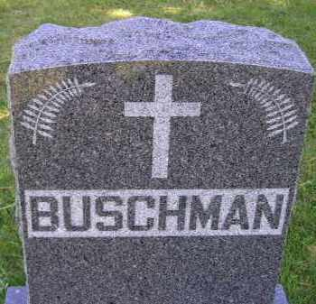 BUSCHMAN, FAMILY STONE - Hanson County, South Dakota | FAMILY STONE BUSCHMAN - South Dakota Gravestone Photos